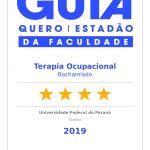 Guia Quero / Estadão da Faculdade - Terapia Ocupacional Bacharelado (4) estrelas amarelas - Universidade Federal do Paraná - Curitiba - 2019